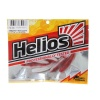 "Виброхвост Helios Catcher 2,75""/7 см Red & White 7шт. (HS-1-003)"